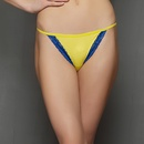 Chic Polyamide Bikini In Yellow