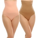 Combo Of 2 : Extra Control-High Waist Tummy Tucker With Silicon Grips