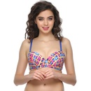 Comfy Push-Up Bra With Funky Prints
