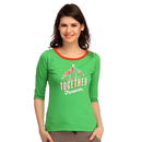Cotton Comfy T-Shirt In Green