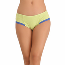 Cotton High Waisted Bikini - Light Green