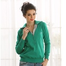 Cozy Clovia Sweatshirt In Green