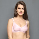 Cotton Rich Non-padded Full Support Bra In Baby Pink