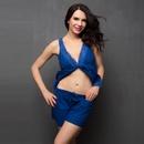 Cotton Cami & Shorts Nightwear Set In Blue