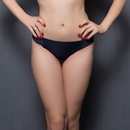 Fashion Thong in Navy Blue