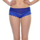 Floral Blue Lace Sexy Panty