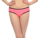 Neon Pink Trendy Panty With Power Net