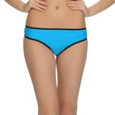Blue Trendy Panty With sheer Back