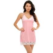 Baby Pink Sexy Short Nightdress