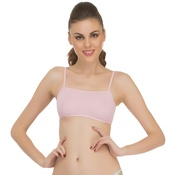 Cropped Teenage Cami In Light Pink
