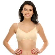 Cotton Non-Padded Moulded T-shirt Bra In Nude