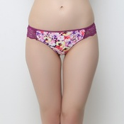 Fashion Thong In Floral Prints