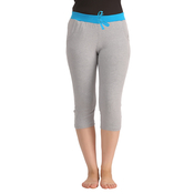 Cotton Yoga Capri - Grey