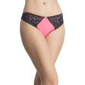 Pink Lacy Low Waist Thongs