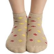 Short Ankle Socks In Beige