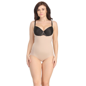 Body Suit In Skin With Detachable Straps