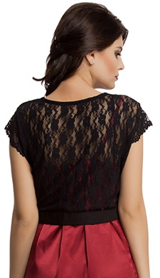 Shrug In Exotic Lace