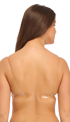Backless Multiway Cotton Bra In Skin