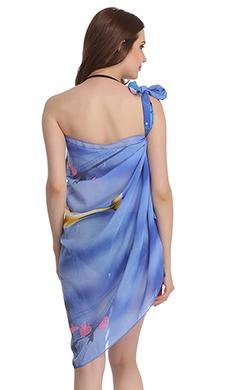 Chiffon Sarong In Blue