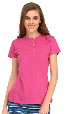 [Image: clovia-picture-cotton-comfy-t-shirt-in-pink-26249.JPG]