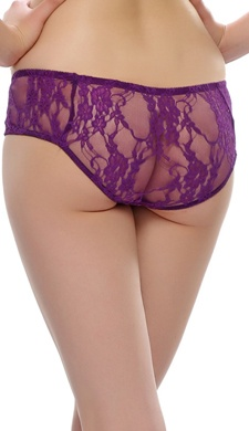 Lacy Panty in Purple
