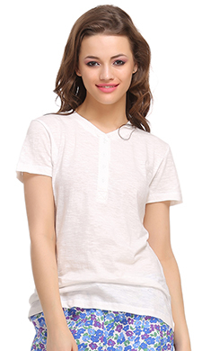 Cotton Comfy T-Shirt In White