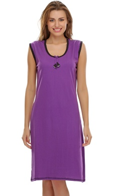 Purple Cute Short Nighty