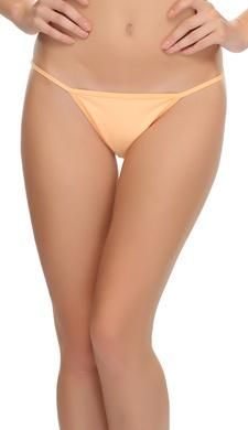Sexy Lacy Bikini In Light Orange