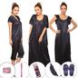 10 Pc Nightwear Set - Navy