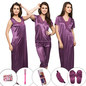 10 Pc Nightwear Set - Purple