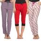 3 Pc Pyjama And Capri Set