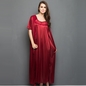 10 Pc Nightwear Set - Maroon