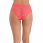 Pink Lace Bikini With Scallop Lace At Legs