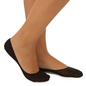 Belly Socks With Polka Dot Print - Black