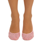 Belly Socks With Polka Dot Print - Pink