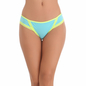 Bikini In Light Blue With Contrast Lacy Trims
