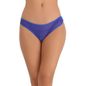 Blue Bikini With Powernet & Lacy Front