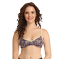 Cotton Non-Padded Wirefree Full Cup Bra -Yellow