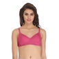 Light Padded Wirefree Demi Cup T-Shirt Bra - Pink