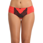 Cotton Bikini With High Waist Coverage - Red