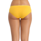 Cotton Mid Waisted Bikini - Yellow