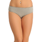 Cotton Bikini With Mid Waist Coverage - Grey