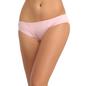 Cotton Bikini With Mid Waist Coverage - Pink