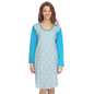 Cotton Comfy Nightdress In Blue