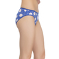 Set of 3 Multicoloured Cotton Mid Waist Bikinis