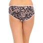 Cotton High Waist Hipster - Black