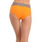 Cotton High Waisted, Tummy Smoothening Hipster - Orange