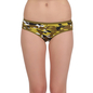 Cotton High Waist Panty - Military Green