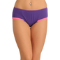 Cotton High Waisted Bikini - Purple