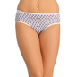 Cotton High Waisted Hipster - Blue